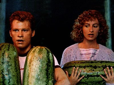 I carried a watermelon?